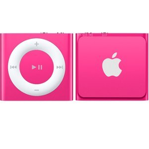 iPod shuffle 2GB - Pink (MKM72HN/A)  available at amazon for Rs.4139