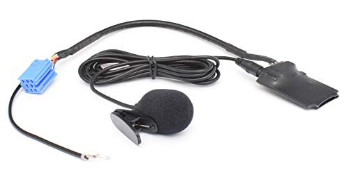 Bluetooth Freisprech Audio Interface geeignet für 8pin Mini-ISO Audi: Chorus 2, Concert 2,Symphony 1/2, Navigation Plus 1/2, RNS-D - - - - VW: MCD, MFD, Gamma 5