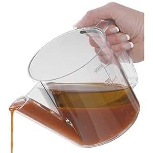Pot à décanter / Séparateur d'huile en plastique, 1L
