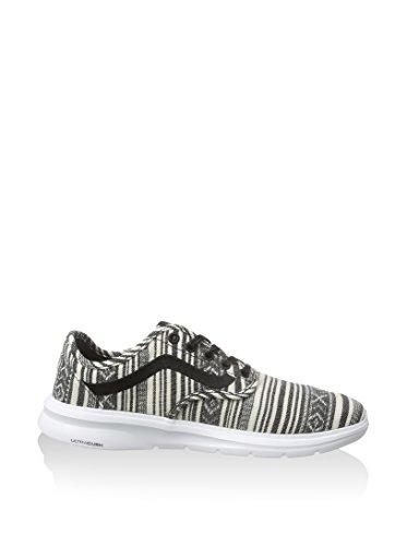 Vans  M Iso 2, Damen Sneaker, Schwarz schwarz / wei