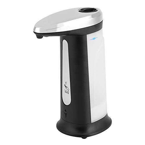 Zartk Berührungsloser automatischer Sensor Seifenspender Freisprecheinrichtung IR Lotion Pumpe Motion Music Sound Flüssigkeitsspender für Badezimmer-Küchen-Mall Hotels mit batteriebetriebenem 400ml Ba