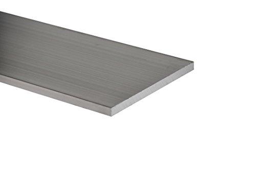 Stange flach Aluminium 6082t6mm 60x 15Länge = 0Meter