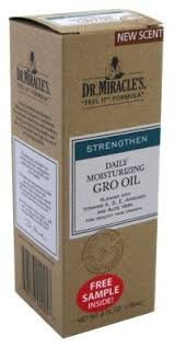 Dr. Miracle's Gro Oil, 4 fl oz by Dr. Miracle's