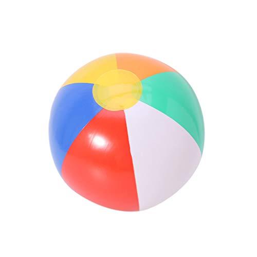 qingqingR Aufblasbare Blow Up Wasserball Urlaub Party Schwimmen Garten Pool Toy Ball Zufällige Farbe
