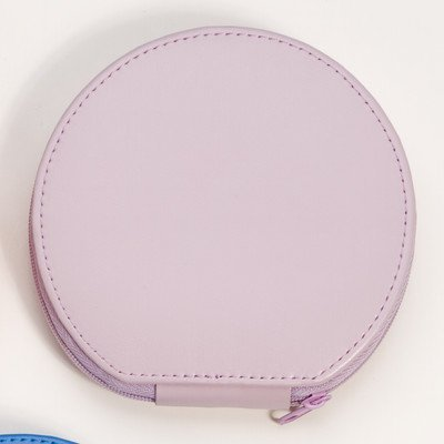 budd-leather-zippered-round-manicure-set-pink-1-pound-by-budd-leather