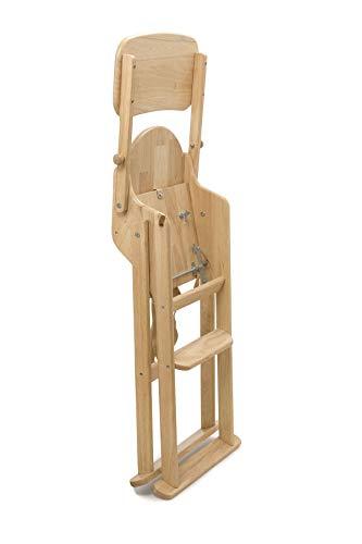 Safetots Trona plegable de madera color natural