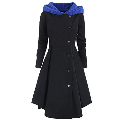 Invernale Giacca Giacche Donna Monopetto Maglione Elegante Lunga Cutude Lana Cappotto Giubbotto Coat verde IwSOqgOEc