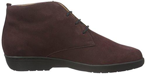 Ganter Ladies Anke, Wide G Desert Boots Red (vino 4200)