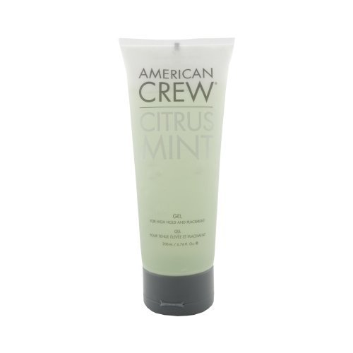American Crew Citrus Mint Gel Men, 6.76 Ounce by AMERICAN CREW