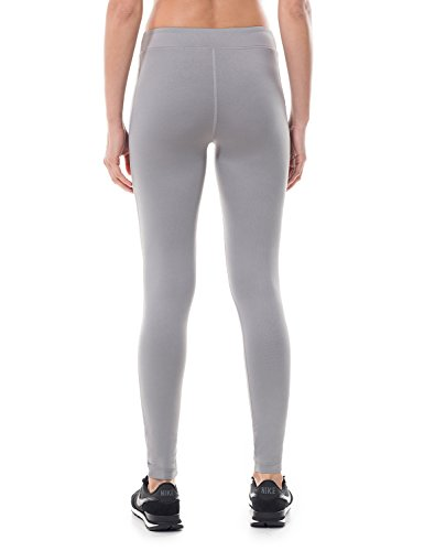 SYROKAN Damen Sport Leggings - Workout Capri Tights Training Yoga Sportshose Dunkelgrau