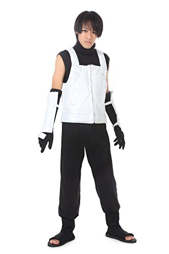 De-Cos Cosplay Costume Hidden Leaf Hatake Kakashi Anbu -