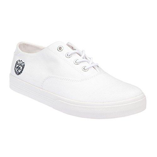U.S. POLO Scarpe Donna Chiusura Con Lacci, Stile Sneaker - mod. GALAD4184S7-CY1 Bianco