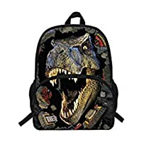VEEWOW 16-Inch Hot Sale School Backpack For Teen Girls Boys Dinosaur Bag For School (D946)
