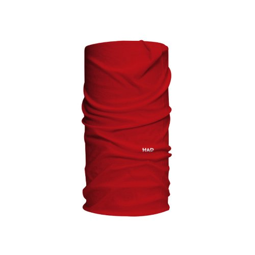 HAD Head Accessoires Solid Colours Funktionstuch, Red, One Size