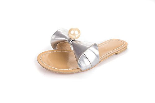 Yff Femmes Chaussures Douces Mesdames Sandales Sandales Plates Femmes Casual Chaussures D'été 9
