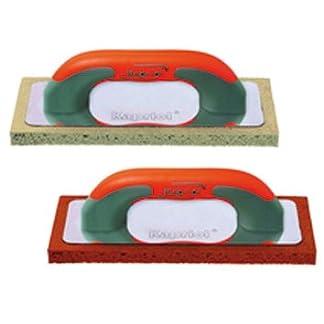 Llana esponja Kapriol con mango Progrip–cm. 14x 21–Goma Roja o goma gris