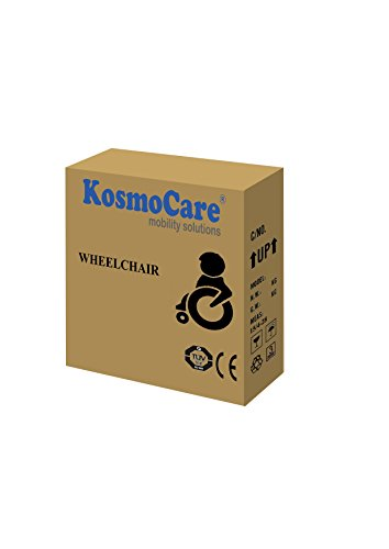 KosmoCare Recliner Reclining Foldable Steel Wheelchair