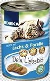 Edeka – Nassfutter für Katzen, Pastete mit Lachs & Forelle 400g