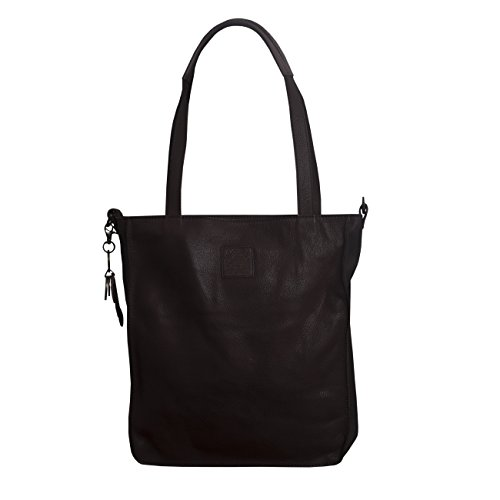Borsa Legend a mano Legend white brown donna Borsa 5 muster vqCESS