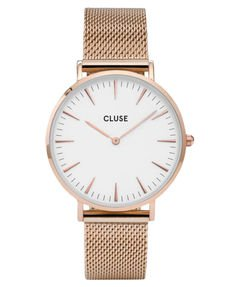 Damen-Uhren-La-Bohme-Mesh-Rose