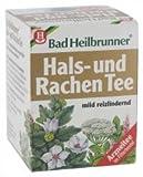 BAD HEILBRUNNER Tee Hals- und Rachen Filterbeutel 8 St