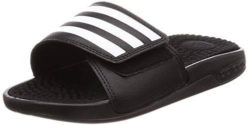 Günstige Adidas Adissage Sandalen Jungen SchwarzWeißSchwarz