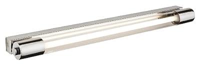 Firstlight Wandleuchte energiesparend mit Schalter T5 IP44 1 x 13 Watt verchromt mit klarem Glas von Firstlight - Lampenhans.de