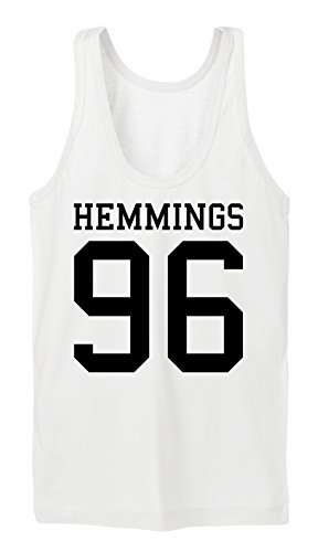Certified Freak Hemmings 96 Tanktop Girls White-XL (Luke Hemmings Shirt 96)