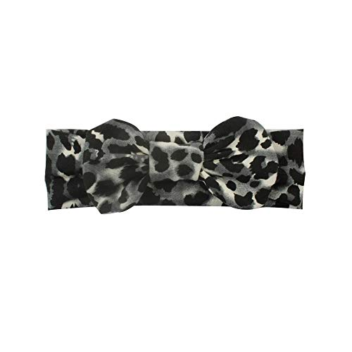 Kfang-headbands, 2019 Leopard Haarschleife Weiche Elastische Stirnband DIY Haarschmuck Für Mädchen Headwrap Top Bowknot Haarbänder Headwear Foto Requisiten (Color : B) -