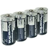 Panasonic Batterie Powerline -C Baby 4er Folie