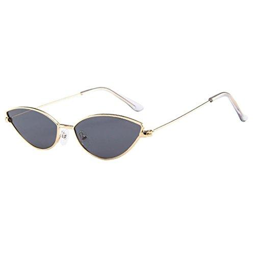 Morwind occhiali da sole clubmaster bordo in corno mezza montatura polarizzati uomo donna piccolo telaio occhi gatto ovale retrò vintage occhiali da sole (b)