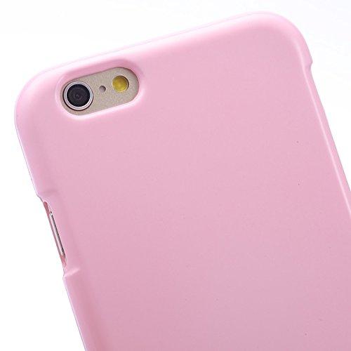 GHC Cases & Covers, Gelee schimmernde Puder TPU Fall für iPhone 6 u. 6S ( Color : Black ) Pink