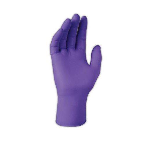 Kimberly-Clark 55083 Purple Nitrile Powder-Free Gloves Large 100/Box by stanleysupply