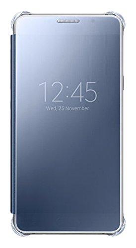 Samsung Clear View Cover per Galaxy A5 2016, Blu Scuro