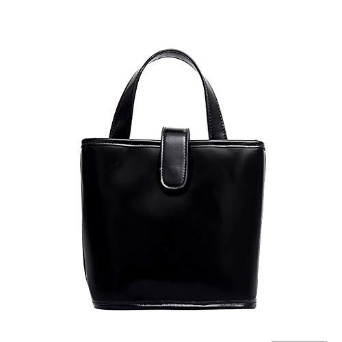 Ledertasche, Schultertasche, Geschenk, Handgefertigte Tasche,Frauen Joker Crossbody Fashion Schultertasche Bucket Bag ()