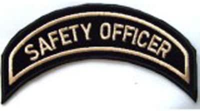 Generico Piccola Toppa Patch Officer Patch Safety Officer Harley Davidson