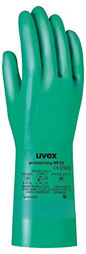 Uvex Profastrong NF33 - Lange Nitril-Chemikalienschutzhandschuhe - Gr. 08/M