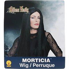 - Morticia Perücke Für Erwachsene
