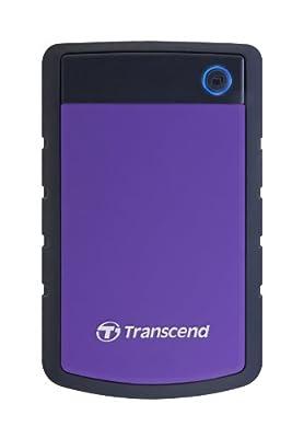 Transcend StoreJet 2.5 inch Military-Grade Shock Resistance Portable External Hard Drive