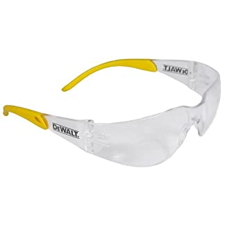 Dewalt DPG54-1D Gafas de seguridad de protección de alto rendimiento con una envoltura alrededor del marco