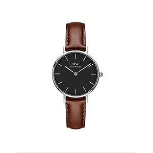 Daniel Wellington Reloj Analógico para Mujer de Cuarzo con Correa en Cuero DW00100237