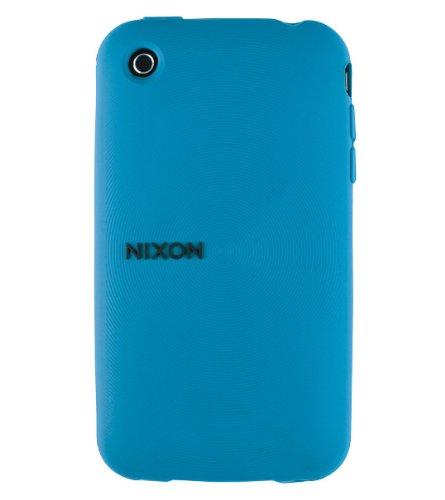Nixon Wrap Wordmark iPhone 3G Phone Case Blue X
