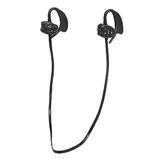 Docooler sans Fil BT Casque 8GB MP3 Lecteur de Musique IPX8 Étanche Sport Casque avec Micro Sports Running Earphone pour Natation Batterie Rechargeable