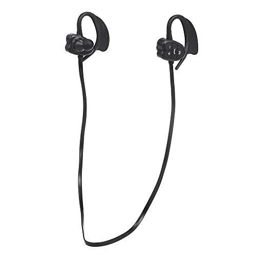Docooler Drahtlose BT Kopfhörer 8 GB MP3 Musik Player IPX8 Wasserdichte Sport Headset mit Mikrofon Sport Lauf Kopfhörer für Schwimmen wiederaufladbare Batterie Headset Musik-player