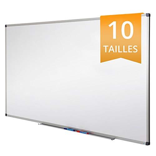 Tableau Blanc Office Marshal® | Tableau Magnétique Élu Meilleur Rapport Qualité/Prix | Tableau Effaçable Aimanté | Série PRO, 60x45cm