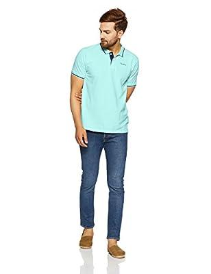 Pepe Jeans Men's Solid Regular Fit T-Shirt
