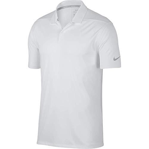 Nike Herren Dry Victory Poloshirt, Weiß (Weiß  100 ), M - Dry Golf Polo