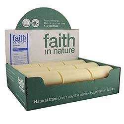1 Pack of Faith in Nature Lavender Soap Unwrapped 18 Box