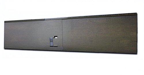 Bordes de jardín de metal galvanizado para Césped 120x13,5 cm. Set de...