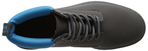 Dr. Martens 939 Gunmetal+Soft Blue Ajax+Pu, Stivali Uomo Multicolore (Gunmetal+soft Blue)